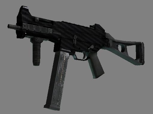 UMP-45 | Carbon Fiber (Minimal Wear)