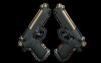 Souvenir Dual Berettas | Contractor (Minimal Wear)