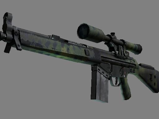 Souvenir G3SG1 | Jungle Dashed (Field-Tested)