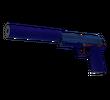 USP-S   Королевский синий (Немного поношенное)
