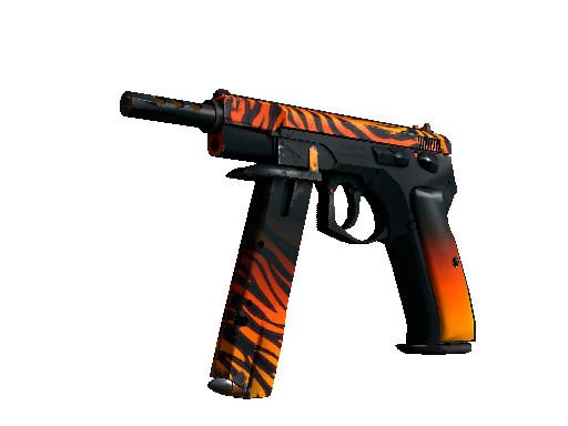 CZ75-Auto | Tigris (Well-Worn)