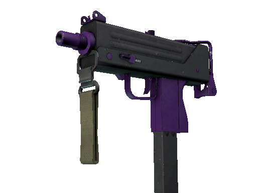 MAC-10 | Ultraviolet (Well-Worn)