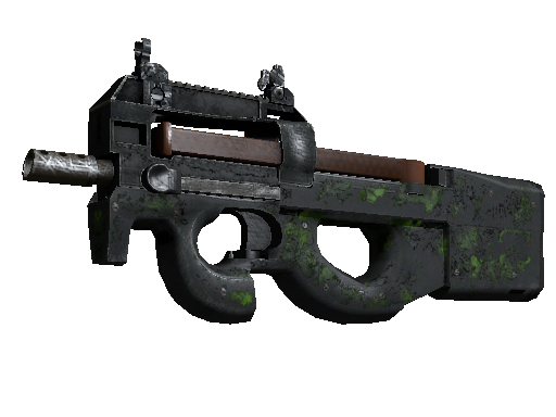 StatTrak™ P90 | Virus (Battle-Scarred)