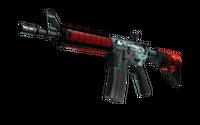 M4A4 | Bullet Rain (Battle-Scarred)