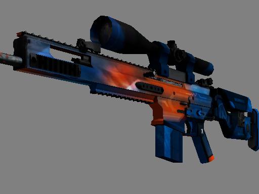 SCAR-20 | Cardiac (Battle-Scarred)