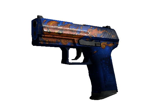 StatTrak™ P2000 | Fire Elemental (Battle-Scarred)