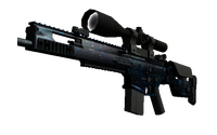 SCAR-20 | Grotto (Well-Worn)