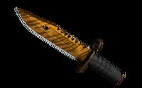 ★ StatTrak™ M9 Bayonet | Tiger Tooth (Factory New)