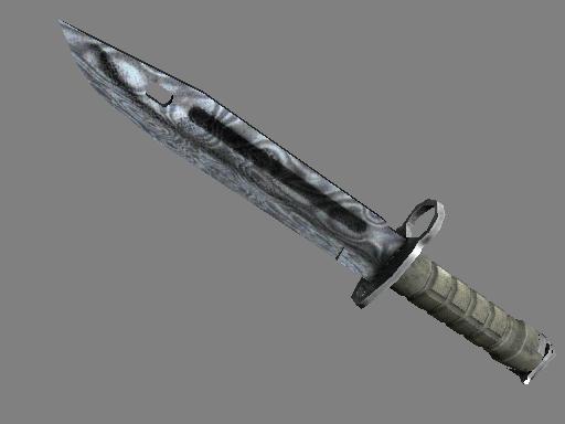 ★ Bayonet   Damascus Steel (Battle-Scarred)