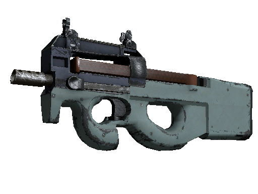 Souvenir P90 | Storm (Well-Worn)