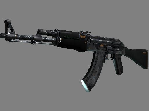 StatTrak™ AK-47 | Elite Build (Battle-Scarred)