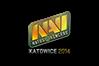 Sticker   Natus Vincere (Holo)   Katowice 2014