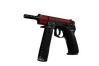 CZ75-Auto | Crimson Web (Well-Worn)