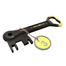 Yellow Summer 2013 Cooler Key