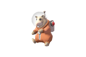 Space Hamster Hammy