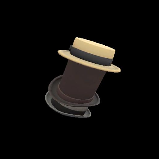 Strange Towering Pillar of Hats