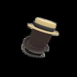 Unusual Towering Pillar of Hats