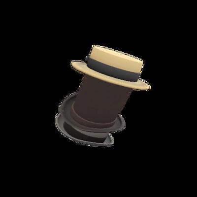 Гигантская башня из шляп