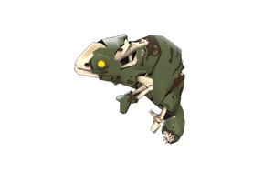 Haunted Carious Chameleon