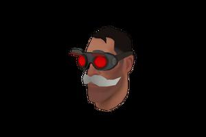 Haunted Dr Gogglestache