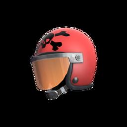 Strange Unusual Death Racer's Helmet