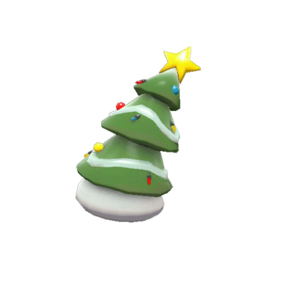 Довольно праздничное деревце