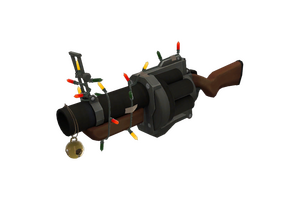 Strange Festive Grenade Launcher