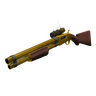 """The Golden Winchester Model 21 Shotgun"""