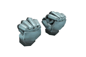 Strange Fists Of Steel