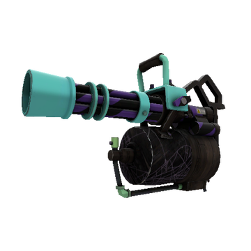 Macabre Web Minigun TF2 Skin Preview