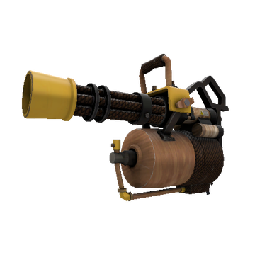 Nutcracker Minigun TF2 Skin Preview