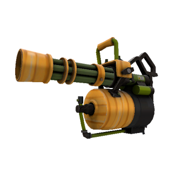 Pumpkin Patch Minigun TF2 Skin Preview