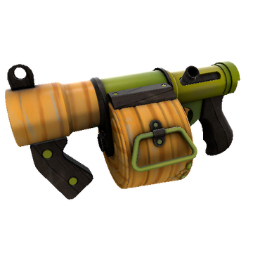 Pumpkin Patch Stickybomb Launcher TF2 Skin Preview