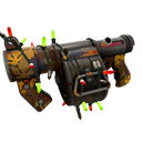 Festive Autumn Stickybomb Launcher (Well-Worn)