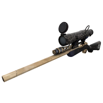 Boneyard Sniper Rifle TF2 Skin Preview