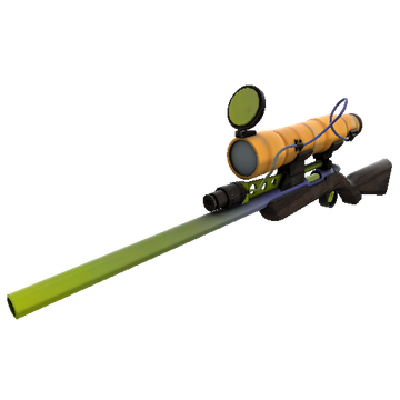 Pumpkin Patch Sniper Rifle TF2 Skin Preview
