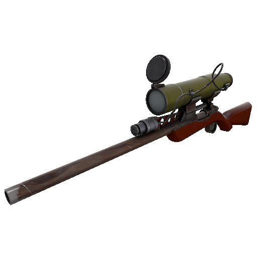 Scarcely Lethal Wildwood Sniper Rifle