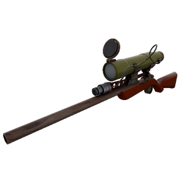 Wildwood Sniper Rifle TF2 Skin Preview