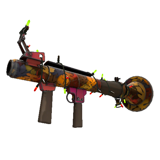 Gore-Spattered Killstreak Rocket Launcher