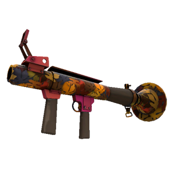 Autumn Rocket Launcher TF2 Skin Preview