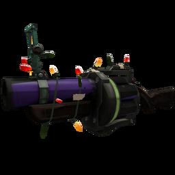 Festive Macabre Web Grenade Launcher (Well-Worn)