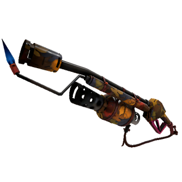 Autumn Flame Thrower TF2 Skin Preview