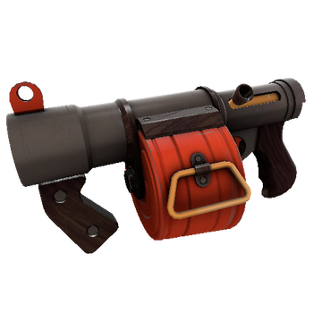 Blasted Bombardier Stickybomb Launcher TF2 Skin Preview