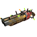 Festive Killstreak Tartan Torpedo Scattergun (Well-Worn)