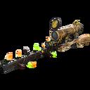 Festive Killstreak Lumber From Down Under Sniper Rifle (Well-Worn)