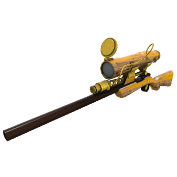 Lumber From Down Under Sniper Rifle TF2 Skin Preview