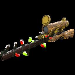 Festive Specialized Killstreak Lumber From Down Under Sniper Rifle (Minimal Wear)