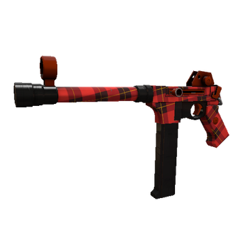 Plaid Potshotter SMG TF2 Skin Preview