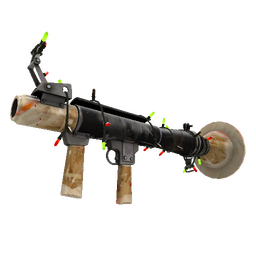 Strange Festive Killstreak American Pastoral Rocket Launcher (Well-Worn)