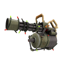Festive Killstreak Antique Annihilator Minigun (Field-Tested)